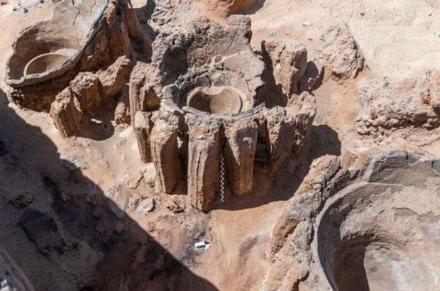 5 bin yıllık bira fabrikası keşfedildi