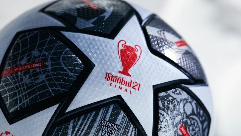 İstanbul'daki UEFA Şampiyonlar Ligi finaline özel top tasarlandı