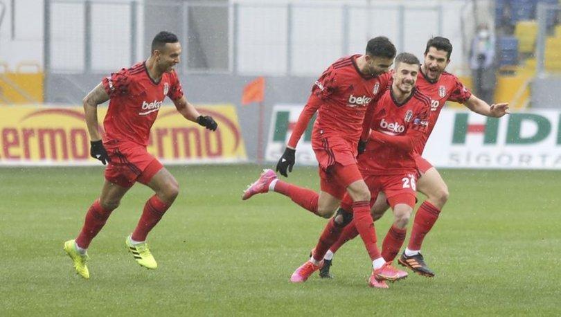 Kartal 3'lü çekti! Son dakika Gençlerbirliği Beşiktaş MAÇ SONUCU ve ÖZETİ