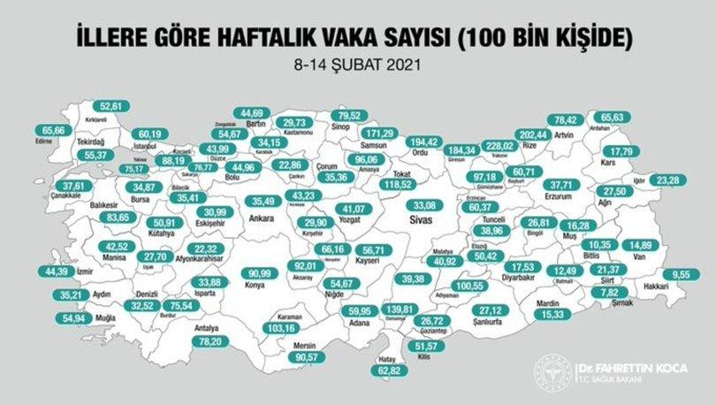 Son dakika: Korona VAKA SAYISI - İstanbul, Ankara ve tüm iller