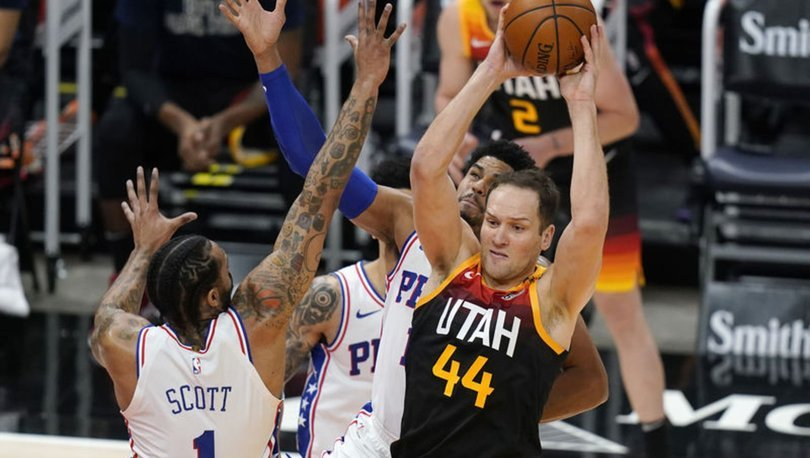 NBA'de Philadelphia 76ers'ı yenen Utah Jazz, 8'de 8 yaptı