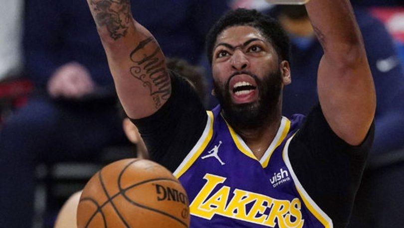 Lakers'ta Anthony Davis sahalardan bir süre uzak kalacak