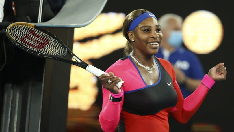 Serena Williams, Avustralya Açık'ta yarı finale çıktı
