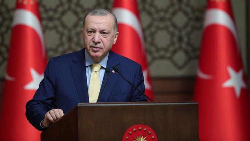 Son dakika... Cumhurbaşkanı Erdoğan,