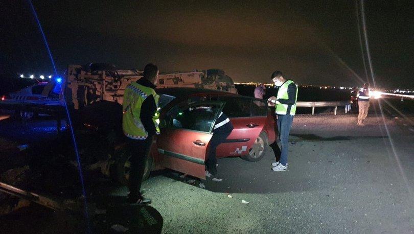 Son dakika: İşçi servisi ile otomobil çarpıştı: 10 yaralı! - Haberler