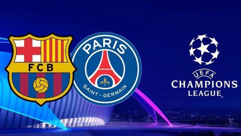 Barcelona PSG maçı hangi kanalda canlı yayınlanacak? Barca PSG maçı ne zaman, saat kaçta, şifresiz mi?