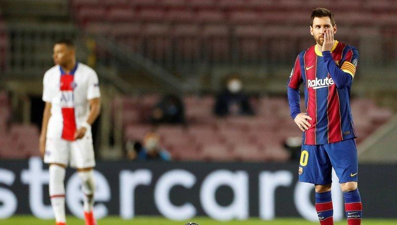 Barcelona: 1 - PSG: 4 MAÇ SONUCU