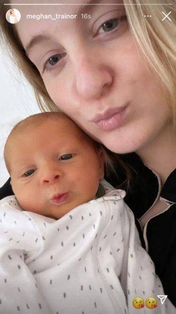Meghan Trainor ve Daryl Sabara çiftinin bebek mutluluğu
