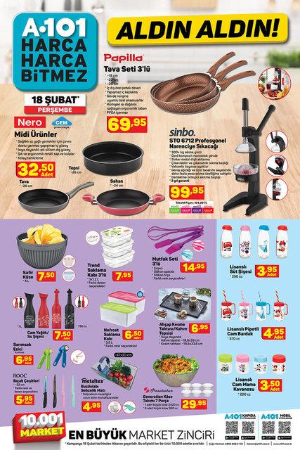 A101 BİM aktüel ürünler kataloğu! 18-19 Şubat A101 BİM aktüel ürünler kataloğu! Tam liste yayında