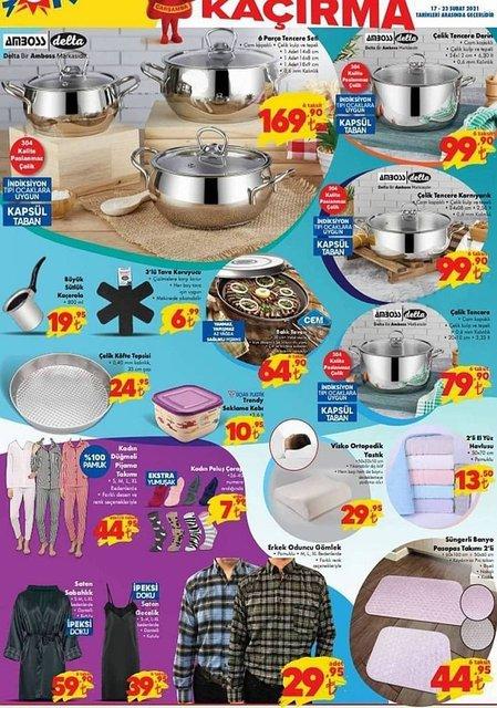 17 Şubat ŞOK market aktüel ürünler kataloğu! ŞOK'da bu hafta neler var? ŞOK indirimli ürünler