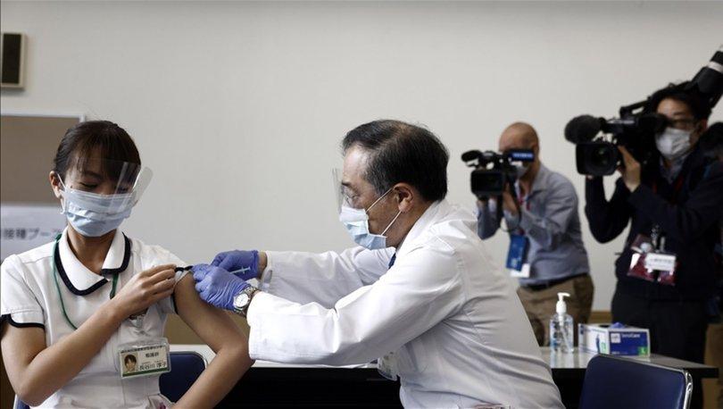 Japonya'da Kovid-19'a karşı aşılama başladı