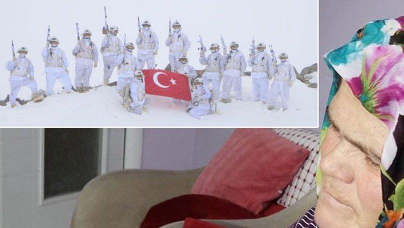 SON DAKİKA! Mehmetçik'ten Eren'in annesine mesaj! İYİ Kİ VARSIN EREN - Haberler