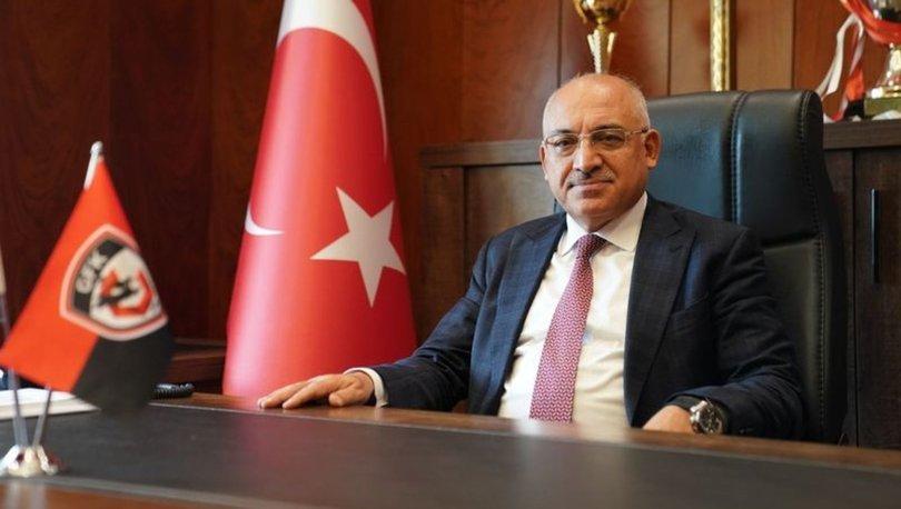 Gaziantep Futbol Kulübü Başkanı Büyükekşi:
