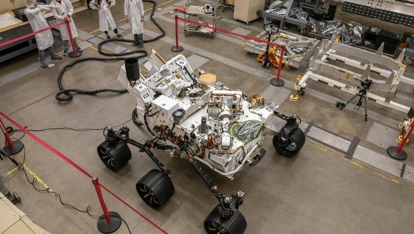 Perseverance: NASA'nın Mars'ta yaşam izi arayacak uzay aracının Perşembe iniş yapması bekleniyor
