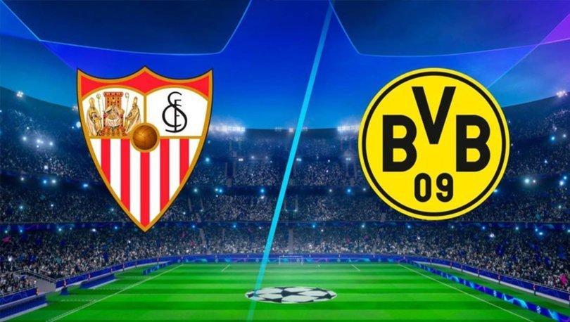 Sevilla Borussia Dortmund maçı ne zaman, saat kaçta, hangi kanalda canlı yayınlanacak? Şampiyonlar Ligi