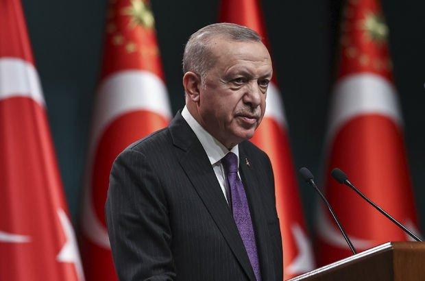 Cumhurbaşkanı Erdoğan: Kademeli normalleşme Mart'ta