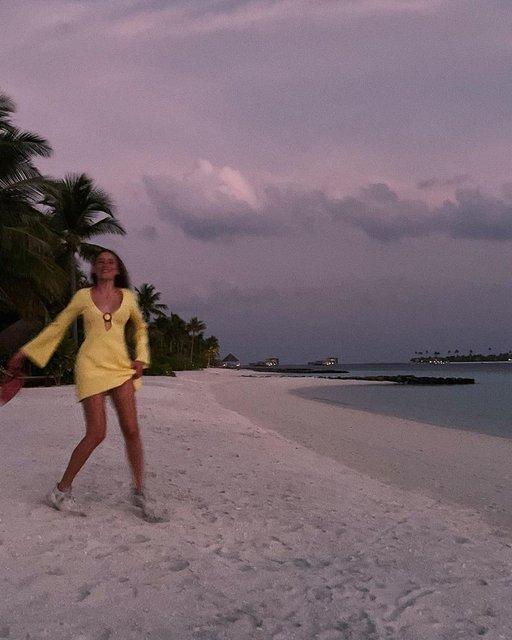 Serenay Sarıkaya, Maldivler'de - Magazin haberleri
