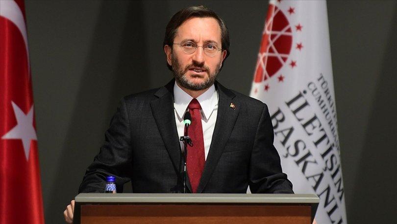 İletişim Başkanı Altun'dan Merasim Sokak'taki saldırıya ilişkin açıklama