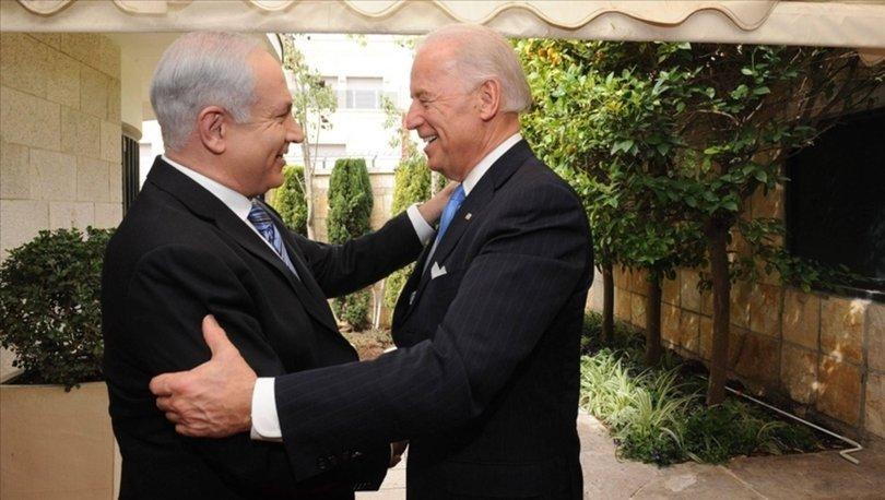 Biden, Netanyahu ile göreve geldikten bir ay sonra görüştü