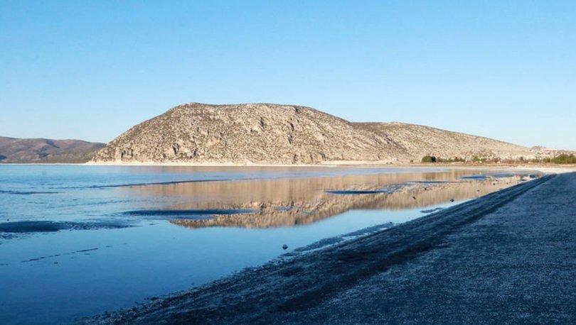 Salda Gölü kuruyor! Yağışlar da fayda etmedi