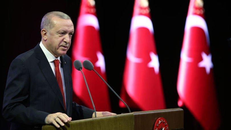 Son dakika: Cumhurbaşkanı Erdoğan açıkladı! Milli sporculara yüzde 100 burs