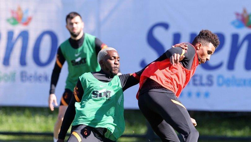 Galatasaray, Alanyaspor hazırlıklarına Antalya'da devam etti