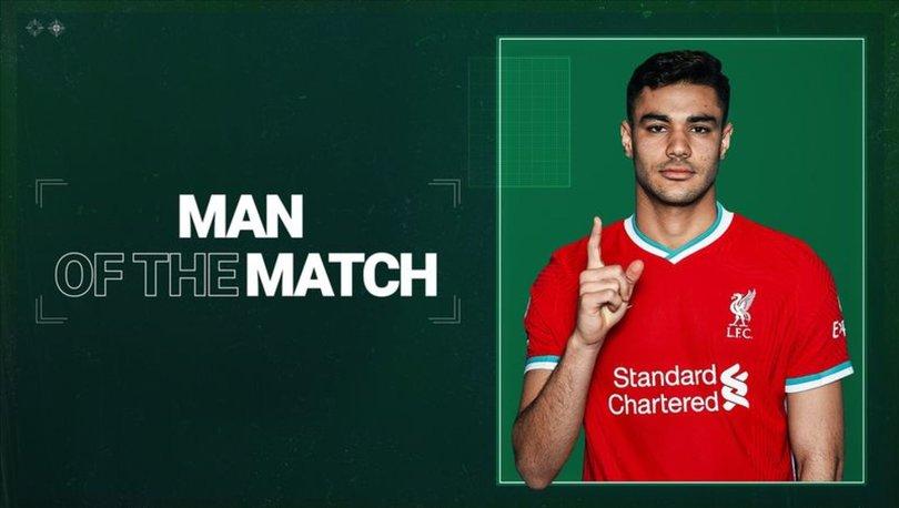 Liverpoollu Ozan Kabak, Şampiyonlar Ligi'nde haftanın 11'ine girdi