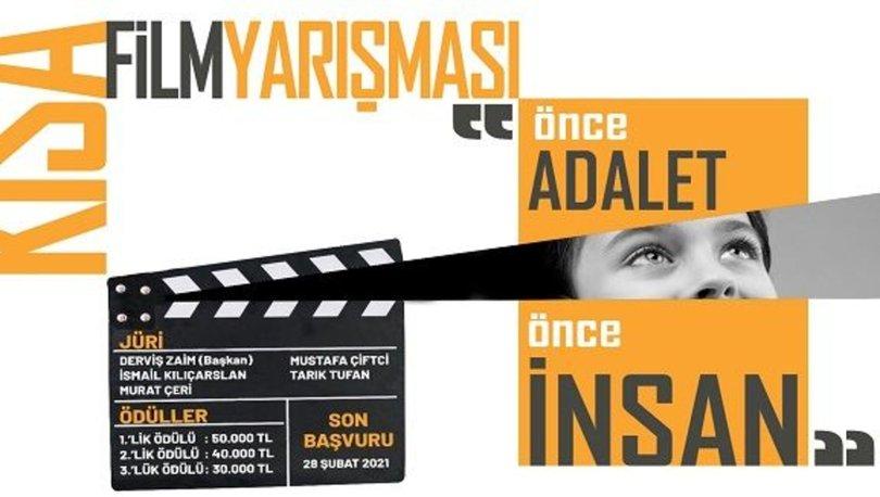 Adalet Bakanlığı 'Önce adalet, önce insan' sloganıyla kısa film yarışması düzenledi