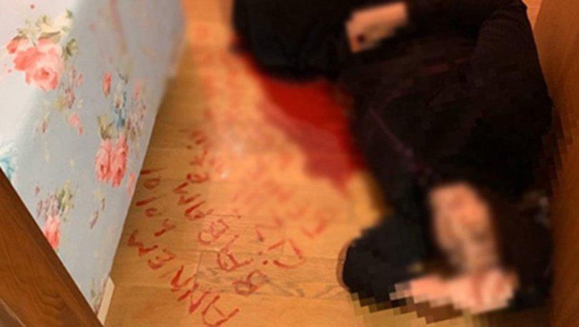 SON DAKİKA! Kanıyla mesaj yazmıştı! Türkiye'nin gündemine oturan kadın konuştu! Haberler