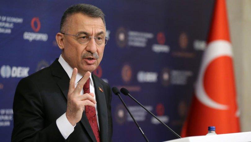 Cumhurbaşkanı Yardımcısı Fuat Oktay Türkiye-Azerbaycan İş Forumu'nda konuştu