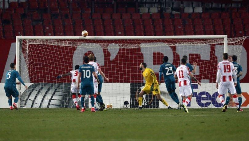 Kızılyıldız: 2 - Milan: 2   MAÇ SONUCU