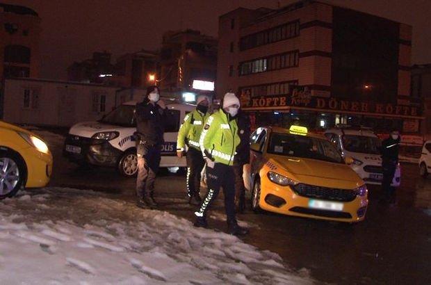 Müşterinin dikkati takside uyuşturucu yakalattı