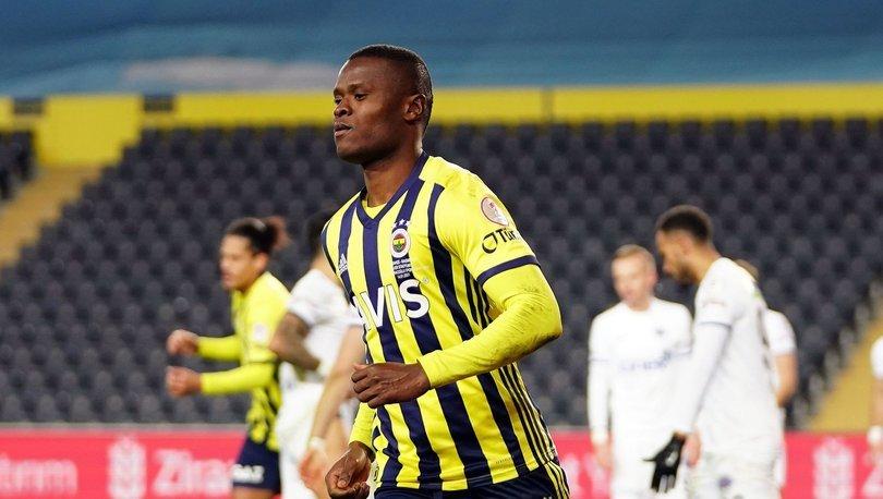 Fenerbahçe'den dikkat çeken Samatta paylaşımı