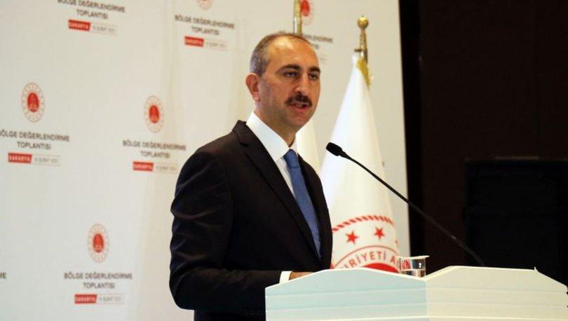 Son dakika: Adalet Bakanı Gül'den