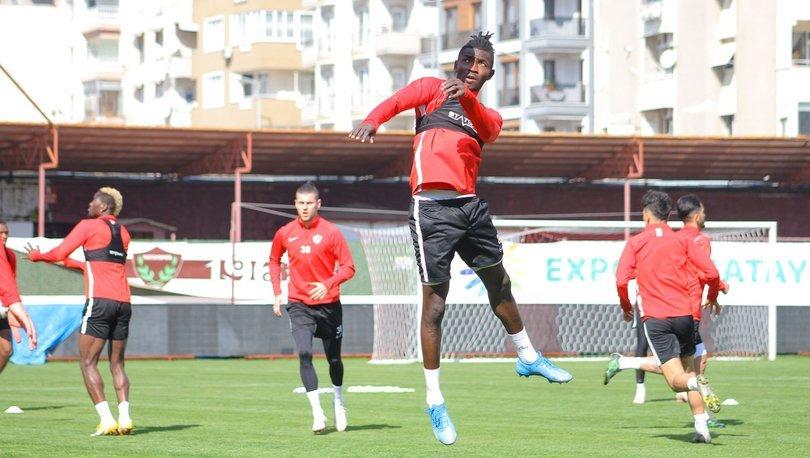 Hatayspor, Büyükşehir Belediye Erzurumspor maçı hazırlıklarını sürdürdü