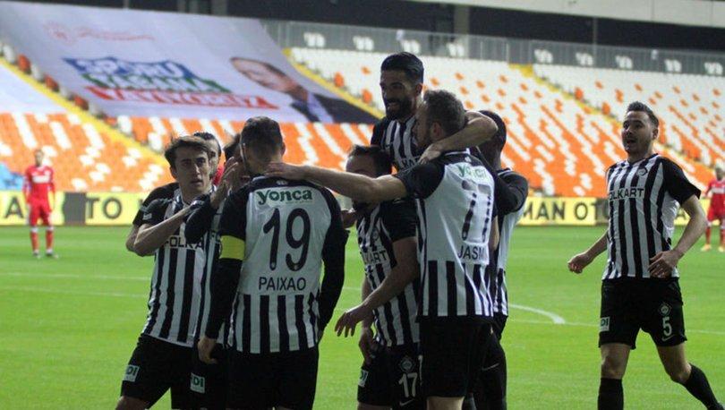 Adana Demirspor: 1 - Altay: 2   MAÇ SONUCU