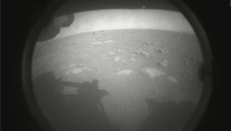NASA'nın uzay aracı Perseverance, Kızıl Gezegen'den yeni fotoğraflar yolladı