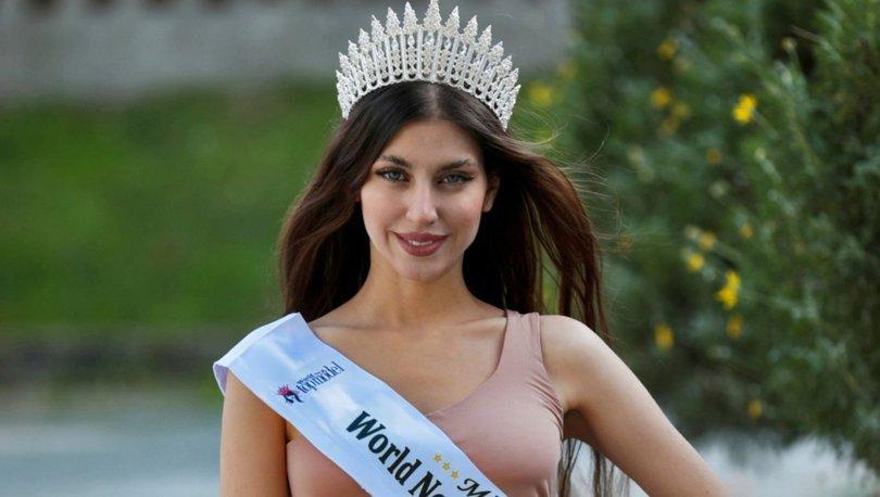 Tescilli güzel Moujan Rajaei, Türkiye için yarışacak - Magazin haberleri