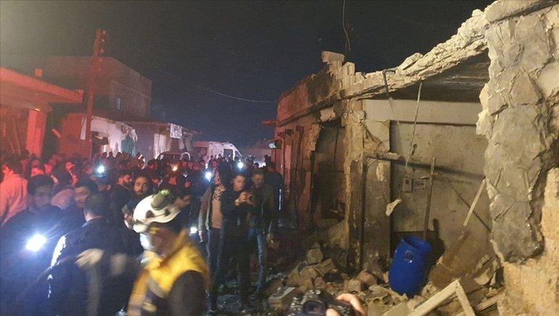 Suriye'nin kuzeyindeki Azez ilçesinde terör saldırısı: 5 sivil yaralı