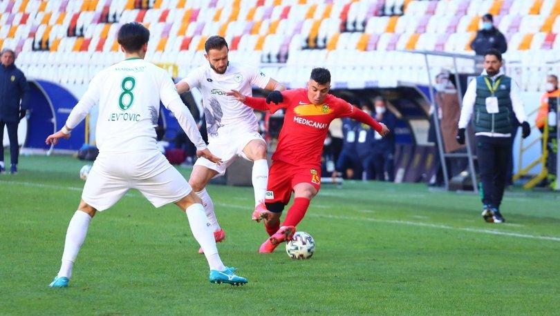 Yeni Malatyaspor: 2 - Konyaspor: 3 | MAÇ SONUCU