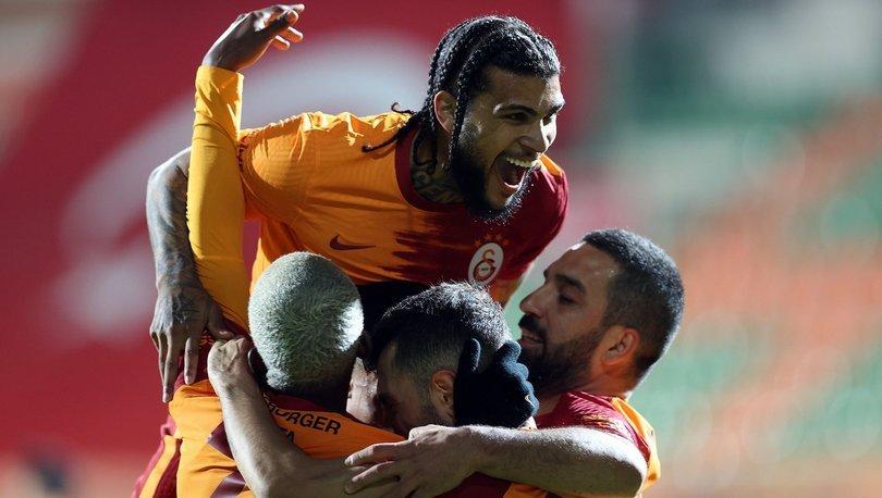 Alanyaspor Galatasaray MAÇ SONUCU ve ÖZETİ