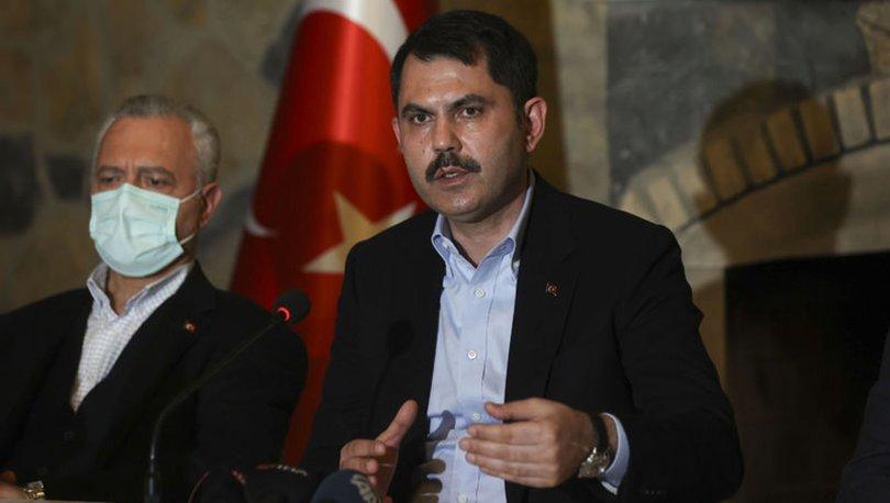 Çevre ve Şehircilik Bakanı Murat Kurum Şile ziyaretinde konuştu