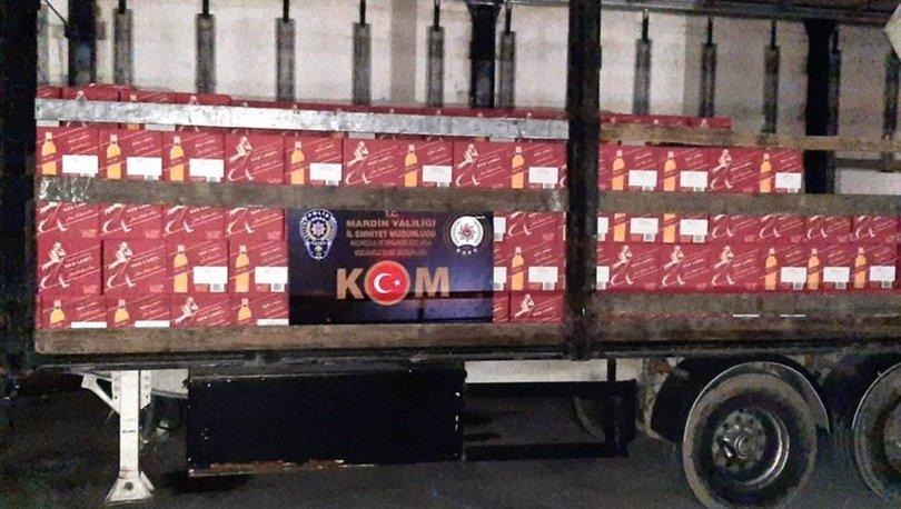 5 milyon liralık kaçak içki baskını