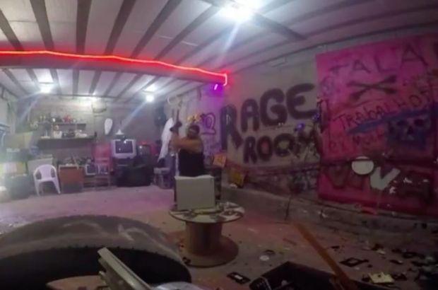 Brezilya'da 5 dolara öfke odası!