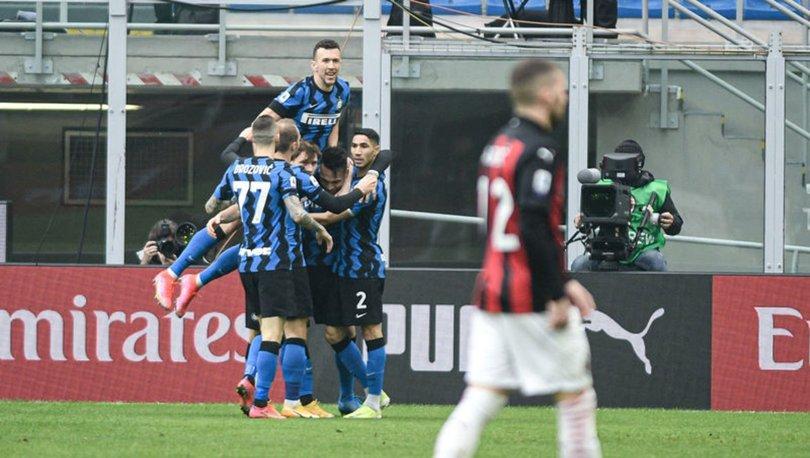 Milan: 0 - Inter: 3 MAÇ SONUCU