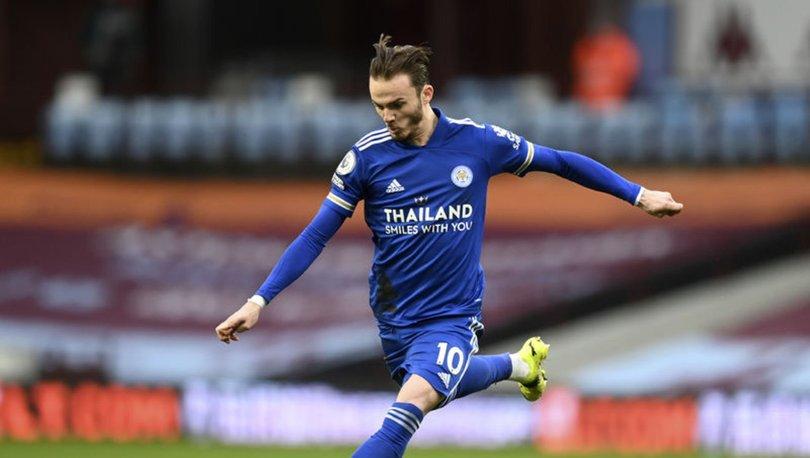 Leicester City, Premier Lig'de zirve takibini sürdürdü
