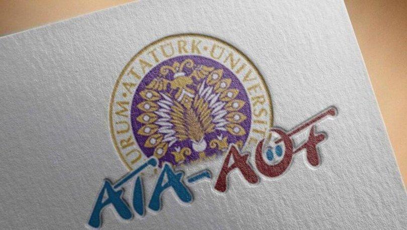 ATA AÖF bütünleme sonuçları 2021 açıklandı! ATA AÖF bütünleme sınav sonuçları sorgulama OBS ekranı