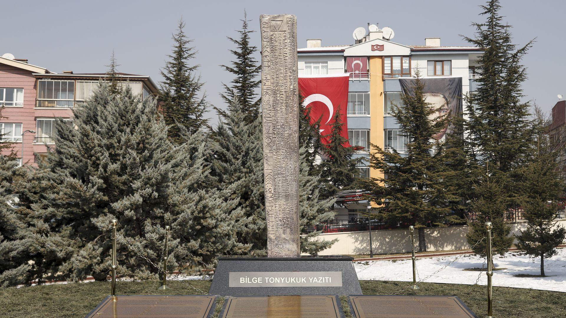 Türk Dünyası Tonyukuk Parkı ve Bilge Tonyukuk Yazıtı'nın açılışı yapıldı