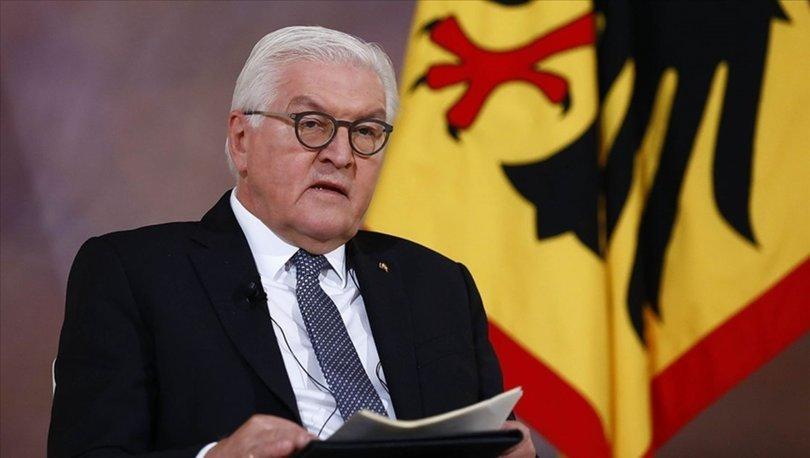 Almanya Cumhurbaşkanı Steinmeier 'Kovid-19 aşılarının dünyada adil dağıtılmasını' istedi