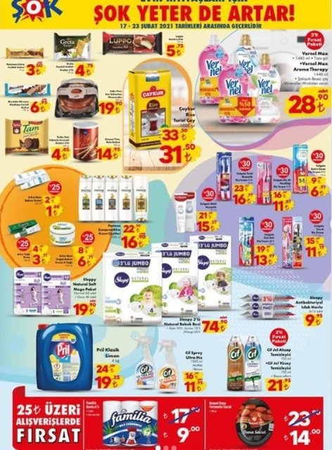 ŞOK 23 Şubat 2021 Aktüel ürünler kataloğu! ŞOK'da haftanın indirimli ürünler listesi